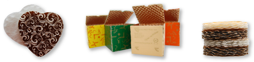 cushion pads for confectionery packaging